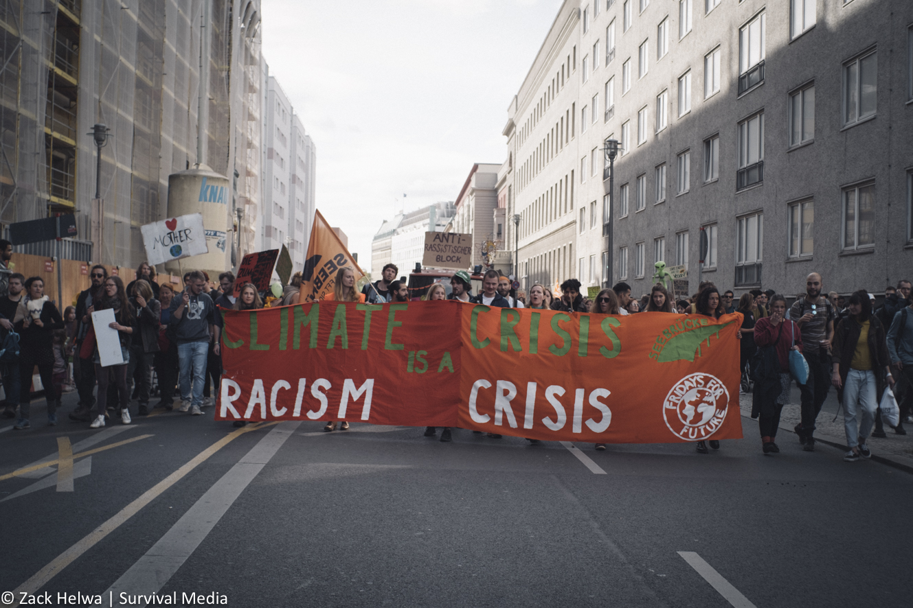In Berlin, the youth lead a march and climate strike to urge world leaders to take meaningful steps to address this crisis with the urgency it requires.